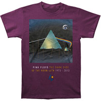 Pink Floyd Men's  Dali T-shirt Purple Rockabilia