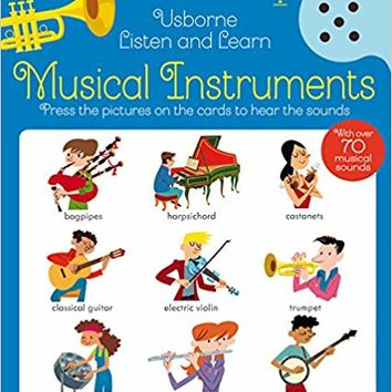 Musical Instruments (Listen and Learn) Hardcover – October 1, 2017