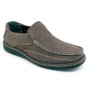 Men's Coffee Casual Slip On Shoes