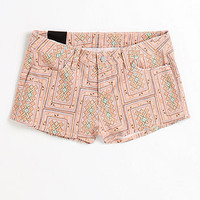 pink patterened shorts
