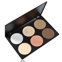 Palette 6 Colors Makeup Contour Face Eye Powder Foundation