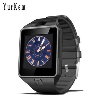 Yurkem Smart Watch DZ09 With Camera Bluetooth Connected SIM Card Smartwatch For Android cell phone PK GT08 dz 09 men wrist watch