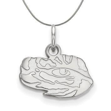 NCAA Sterling Silver Louisiana State XS Pendant Necklace