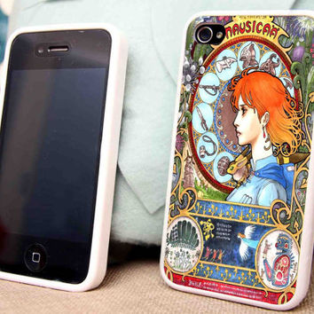 Nausicaä Of The Valley Of The Wind for iPhone 5 5C 5S iPhone 4/4S Samsung Galaxy S3 S4 case