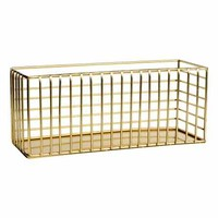 Metal storage basket - Gold - Home All | H&M GB