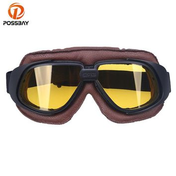 Outdoor Sport Motorcycle Goggles Cycling Glasses Motorbike Glasses Cafe Racer Dirt Bike Off Road Racing Sun Skate Ski Goggles