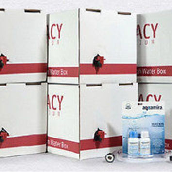 Legacy Premium Food Emergency Water Supply Box Kit Stackable Containers Survival