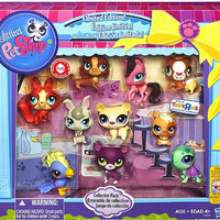 Littlest Pet Shop, Exclusive Limited Edition Collector's 10-Pack [Horse, Panther, Dachshund, Cockatoo, Guinea Pig, Hamster, Turtle, Fox, Bear & Bunny]