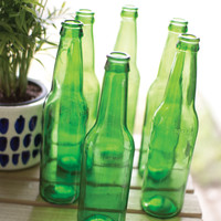 Recycled Green Glass Bottle
