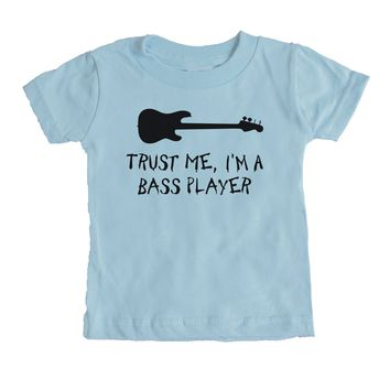 Keep Calm I'm The Bassist Baby Tee