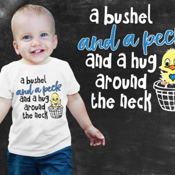 A Bushel and a Peck Boys Graphic T-shirt