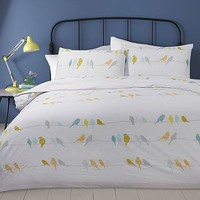 Birds On A Wire Single Duvet Set