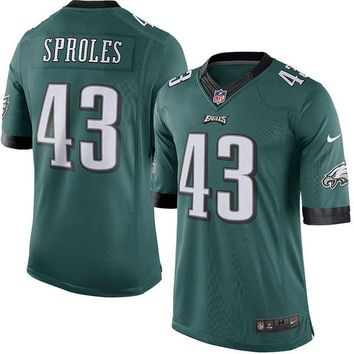 Youth Philadelphia Eagles Darren Sproles Nike Midnight Green Limited Jersey