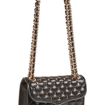 Rebecca Minkoff 'Mini Quilted Affair with Studs' Shoulder Bag
