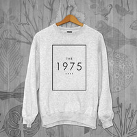 1975 Unisex Adult Long Sleeve T-Shirt Sweater Sweatshirt, for men and women Available Size S,M,L,XL,XXL