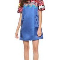 Marc by Marc Jacobs Motocross Printed Short Sleeve Dress