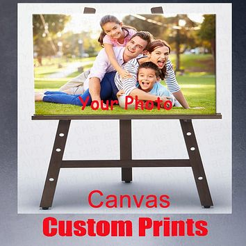 Your Picture,Family,Friends Or Baby Photo,Favorite Image Custom Print On Canvas Painting Wall Art Decorative Pictures As Gift