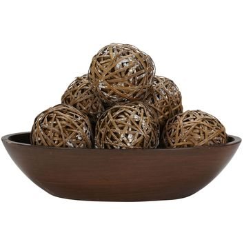 Table Center Pieces -Decorative Balls -Set Of 6