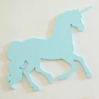 Unicorn Wall hanging nursery decor trendy child's room baby room boho decor wall hanging cute glitter unicorn decor