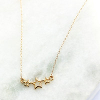 Wishes Star Necklace - Christine Elizabeth Jewelry