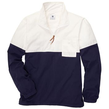 Dock Pullover in Ivory and Navy by Southern Proper
