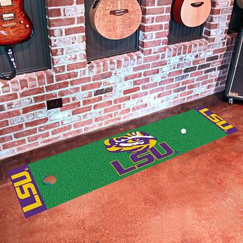 "LSU Putting Green Runner 18""x72"""