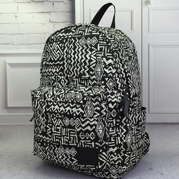ONETOW Day-First? Vintage Aztec Canvas Lightweight Backpack Travel Bag School Bag Daypack