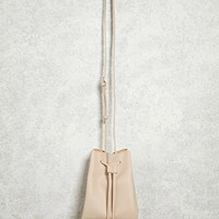Crossbody Pebbled Bucket Bag