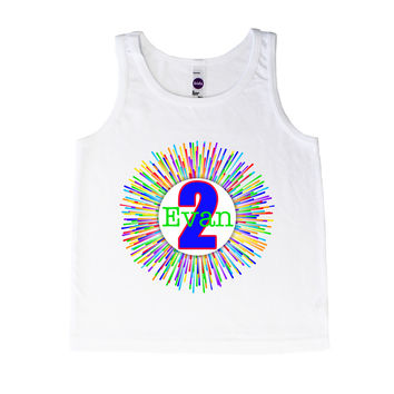 Birthday Colorful Wreath - Tank