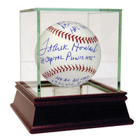 Frank Howard Signed The Capital Punisher Multi-Stat Insc Baseball