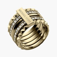 Women's Michael Kors Studded Ring