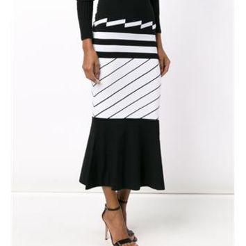 PREEN   Nev Long Skirt   brownsfashion.com   The Finest Edit of Luxury Fashion   Clothes, Shoes, Bags and Accessories for Men & Women