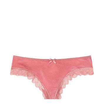 Cutout Velvet Thong Panty - Very Sexy - Victoria's Secret