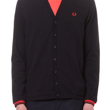 fred perry PIQUE V-NECK M4398-608 | gravitypope