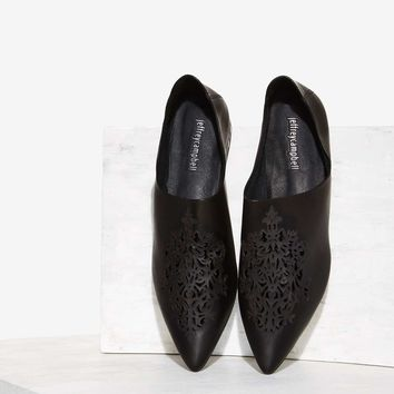 Jeffrey Campbell Cersei Leather Flat