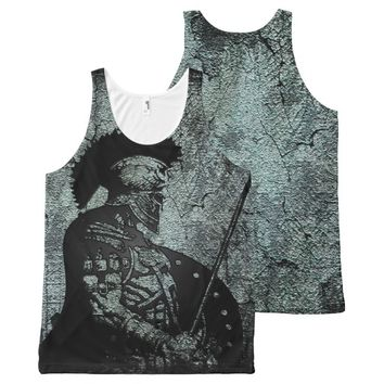Achilles All-Over Print Tank Top