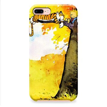 Calvin and Hobbes Relaxing iPhone 8 | iPhone 8 Plus Case