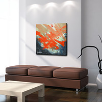 Ready2hangart 'Smash XVI' by Art Alexis Bueno Wrapped Canvas Wall Art