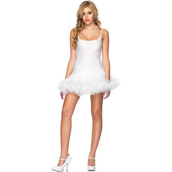 White Petticoat Dress