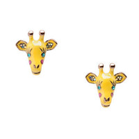 GIRAFFE STUD EARRINGS - Betsey Johnson