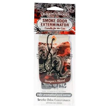 Smoke Odor Exterminator Car Dragon's Blood