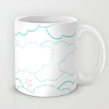 Cloud Dash Mug by Ariel Lark