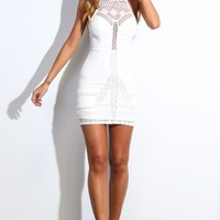 HelloMolly | Damage Done Dress White