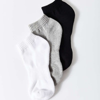Athletic No-Show Ankle Sock 3 Pack - Urban Outfitters