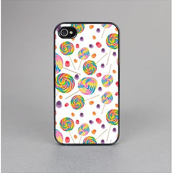 The Lollipop Candy Pattern Skin-Sert for the Apple iPhone 4-4s Skin-Sert Case