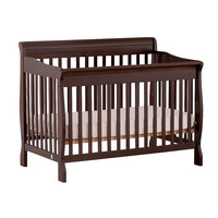 Stork Craft Modena 4-in-1 Fixed Side Convertible Crib - Espresso