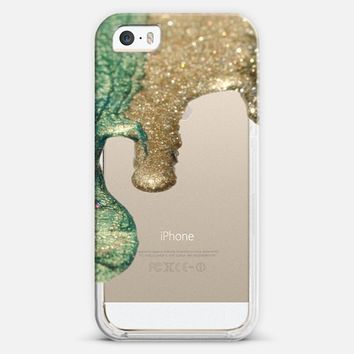 LIQUID GOLD II Crystal Clear Case iPhone iPhone 5s case by Monika Strigel | Casetagram
