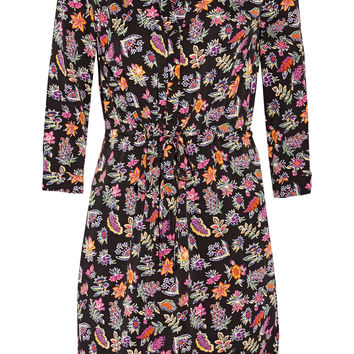 Diane von Furstenberg - Freya printed stretch-silk dress