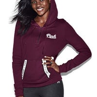 Perfect Quarter-Zip Hoodie - PINK - Victoria's Secret