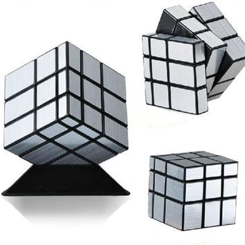 ShengShou Mirror Magic Cube professional 3x3x3 Gold&Silver cubo magico Cast Coated Puzzle Speed Twist learning & education Toys